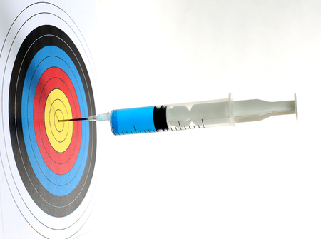 Precision medical syringes hit the bulls eye