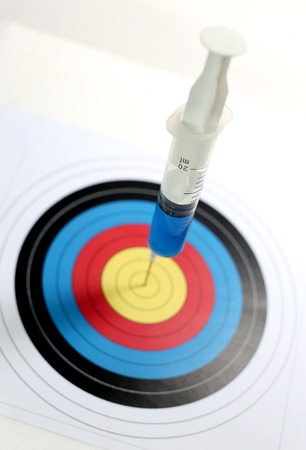 Precision medical syringes hit the bulls eye