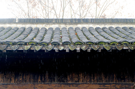 eaves: ancient Chinese architecture of eaves