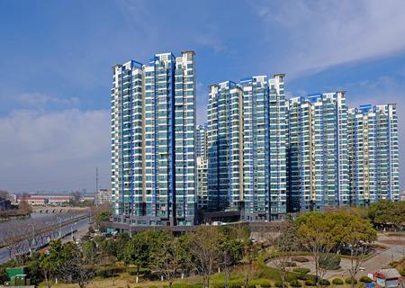 High-rise residential building plot