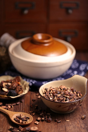 earthen pot: Traditional Chinese medicine