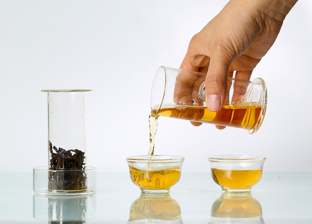 tea set: Glass tea set