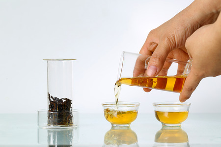 tea set: Glass tea set