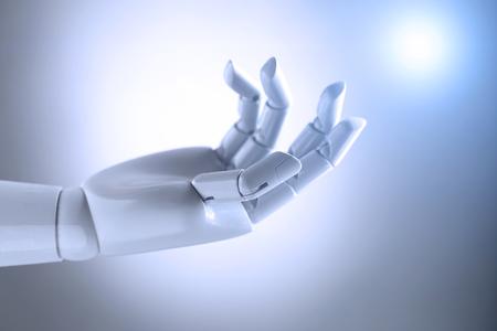 Künstliche Intelligenz Hand Standard-Bild - 61192510