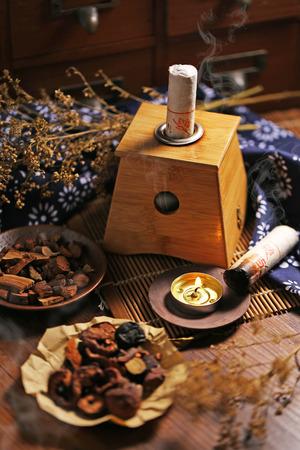 moxibustion: Moxibustion Chinese medicine