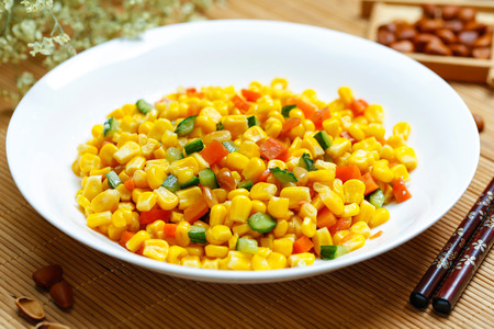 specials: Sauteed Sweet Corn with Pine Nuts