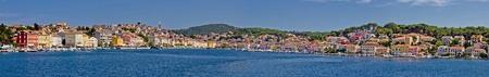 Megapanoramic view - Mali Losinj, Island of Losinj, Croatia