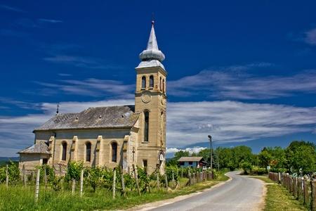 Church in Erdovec village, Krizevci, Croatia