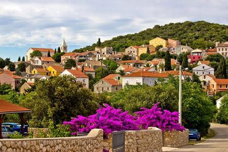 Charming adriatic village of Cunski, Island of Losinj, Croatia