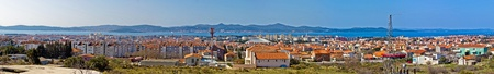 Adriatic city of Zadar panoramic view, Croatia, Dalmatia
