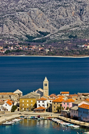 Idyllic adriatic town of Vinjerac and Paklenica national park, Dalmatia, Croatia