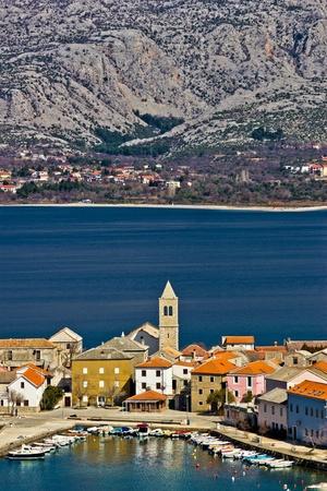 Idyllic adriatic town of Vinjerac and Paklenica national park, Dalmatia, Croatia