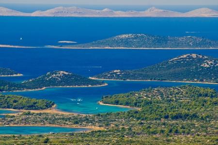 Kornati national park paradise islands, archipelago in Dalmatia, Croatia