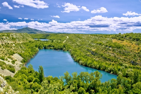 Krka river national park - Brljan lake, Dalmatia, Croatia