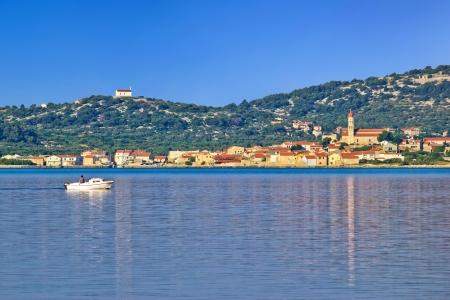 betina: Town of Betina, Island of Murter, Dalmatia, Croatia Stock Photo