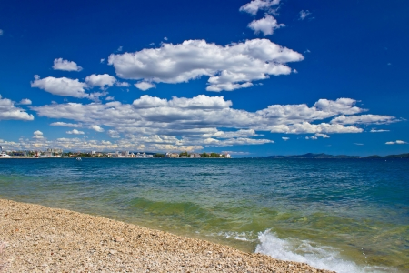 Далмация: City of Zadar beach view, Dalmatia, Ctoatia