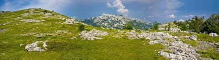 Velebit mountain national park panorama, Croatia photo