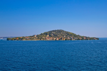 Small Dalmatian island of Osljak, Croatia Stock Photo