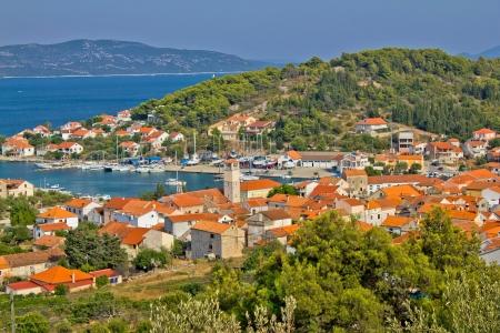 Adriatic coast - Veli Iz island, Dalmatia, Croatia