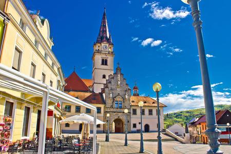 Marija Bistrica marianic sanctuary in Croatia, Zagorje region