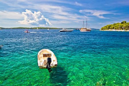 Paklinski Islands famous yachting and sailing destination near Hvar in Dalmatia, Croatia