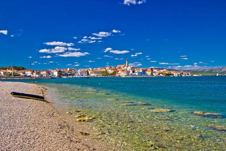 Adriatic coast town of Betina on Murter island, Croatia photo