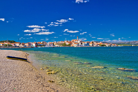 betina: Adriatic coast town of Betina on Murter island, Croatia