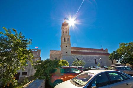 betina: Betina on Murter island church, Dalmatia, Croatia Stock Photo