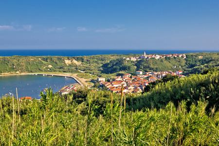 Island of Susak village and nature view, Kvarner, Croatia