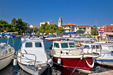 sveti: Sveti Filip i Jakov coastal town in Dalmatia, Croatia Stock Photo