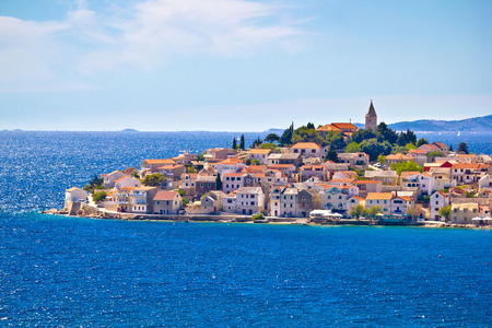 Scenic town of Primosten view, Dalmatia, Croatia