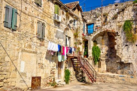 dalmatia: Historic old streets Dalmatia, Croatia