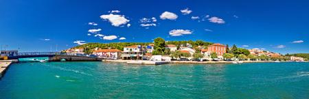 hellish: Tisno panoramic view from Murter island, Dalmatia, Croatia