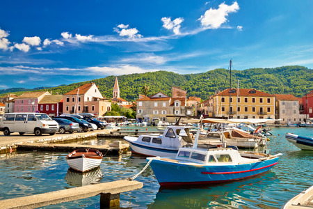 starigrad: Old harbor of Stari Grad on Hvar island, Dalmatia, Croatia