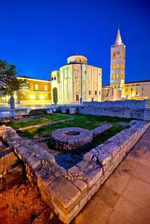 dalmatia: Old Zadar church and artefacts, Dalmatia, Croatia