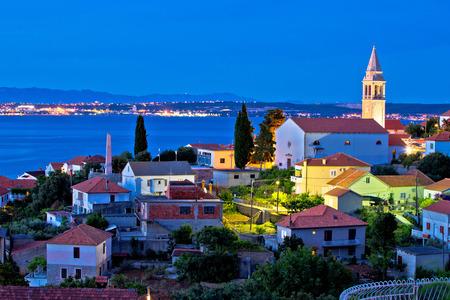 kali: Town of Kali on Ugljan island evening view, Dalmatia, Croatia
