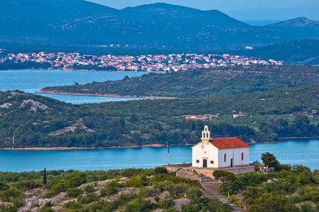 betina: Island of Murter archipelago view, Dalmatia, Croatia