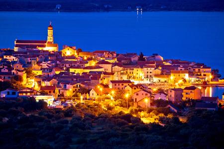 betina: Mediterranean town of Betina evening view, Island of Murter, Croatia