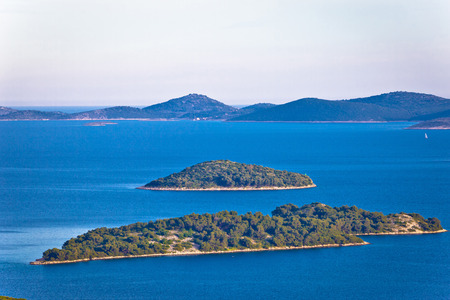 kornati: Adriatic archipelago of Croatia view, Kornati islands national park, Dalmatia