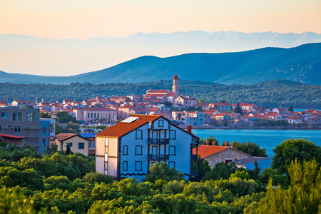 betina: Town of Betina on Murter island view, Dalmatia, Croatia