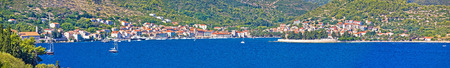 Island of Vis seafront waterfront, Dalmatia, Croatia Stock Photo
