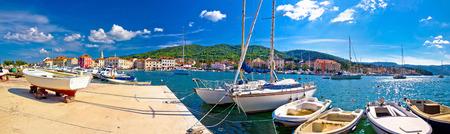Stari Grad on Hvar island panoramic view, Dalmatia, Croatia