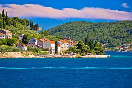 Island of Osljak archipelago view, Dalmatia, Croatia