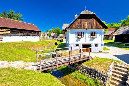 former yugoslavia: Kumrovec picturesque village in Zagorje region of Croatia, birth place of Josip Broz Tito, former leader of Yugoslavia