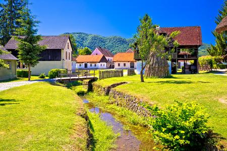 Kumrovec picturesque village in Zagorje region of Croatia, birth place of Josip Broz Tito, former leader of Yugoslavia