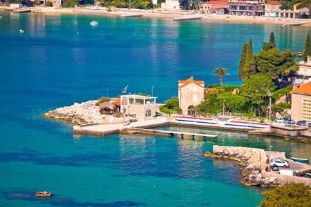 Mlini and Srebreno near Dubrovnik coastline view, southern Dalmatia region of Croatia Reklamní fotografie