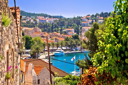 Town of Cavtat waterfront view, south Dalmatia, Croatia
