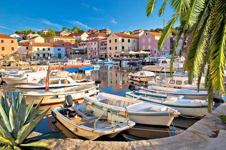 Village of Sali on Dugi Otok island colorful harbor view, Dalmatia archipelago Croatia