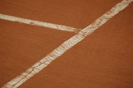atp: Clay court Stock Photo