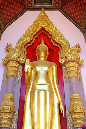 esteemed: Buddha in Nakhon Pathom province  Thailand.